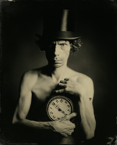 Mad Hatter's Time, ambrotype 8х10""